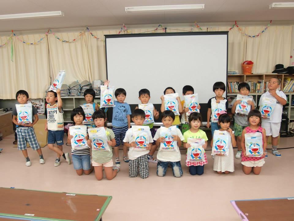 大船渡市 盛小児童クラブ ドラえもん上映会 上映後.jpg